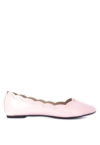 BENCH pink Ballerina Flats 519F0SH44CD038GS_1