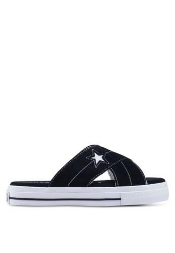 9f7c27f0faf2 Buy Converse One Star Sandalism Slide Ons Online on ZALORA Singapore