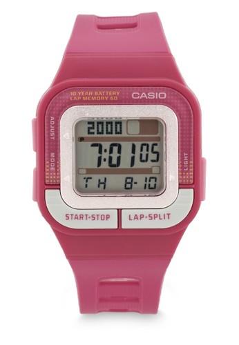 Casio pink Casio Unisex Digital SDB-100-4ADF Pink BB9F2AC445D62BGS_1