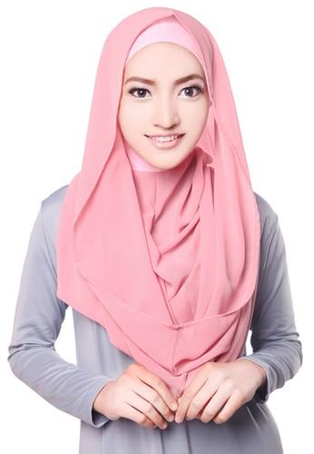 Zelena Hoodie Althea Instan - Including Inner - Dusty Pink