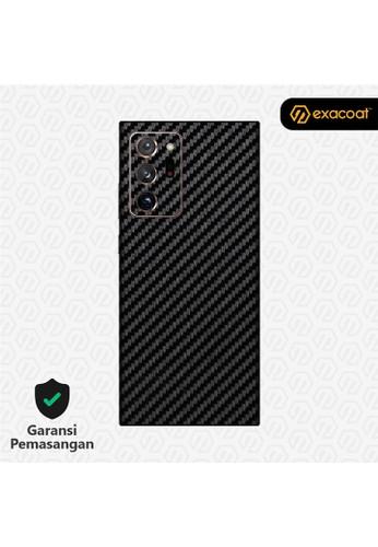 Exacoat Galaxy Note 20 Ultra 3M Skins Carbon Fiber Black - Cut Only BD2A3ESDF58DDAGS_1