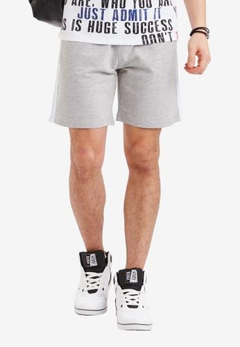 LC Waikiki grey Standard Fit Bermuda Shorts A4227AA77E599CGS_1
