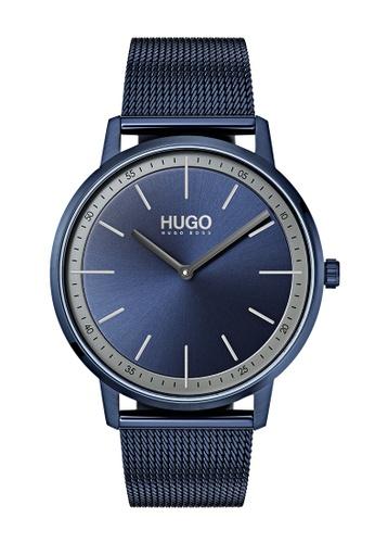 Hugo Boss blue HUGO Exist Blue Unisex Watch (1520011) CD899AC72CFE53GS_1