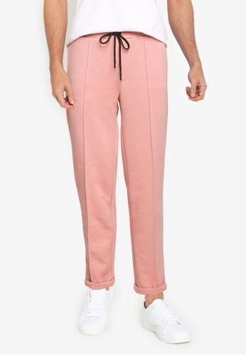 UniqTee pink Ultra Soft Active Jogger Pants B237FAA1EF883AGS_1