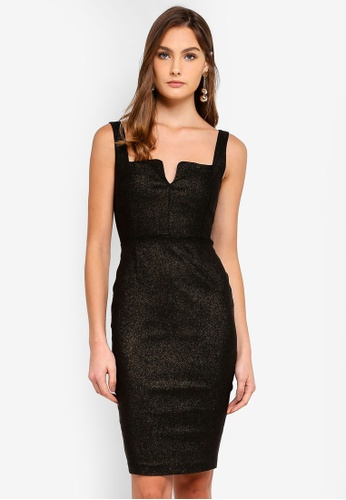 Vesper multi Cindy Glitter Mini Dress 5670DAAB8F30E6GS_1