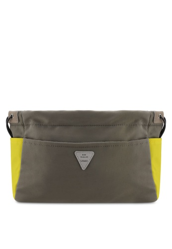 Bagstationz grey Colour Block Lightweight And Water-Resistant Bag In Bag Organizer 78D88ACDF459E2GS_1