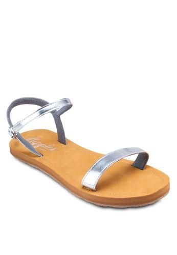Emmaesprit home 台灣 亮面繞踝涼鞋, 女鞋, 鞋