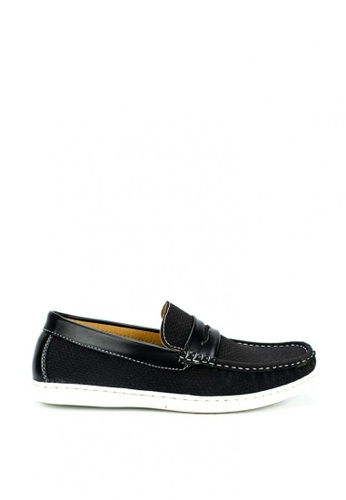 Cardam's Lifestyle black Ivann Casual Shoes E587DSH8168C66GS_1
