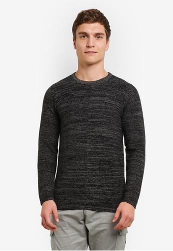 Indicode Jeans black Joel Light Knit Boxy Sweater IN815AA0ROLKMY_1