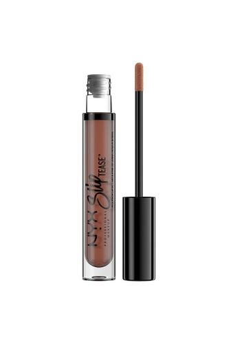 NYX Professional Makeup brown NYX Professional Makeup Slip Tease Full Color Lip Oil - BEYOND BASIC B1A97BEFCE5CBCGS_1