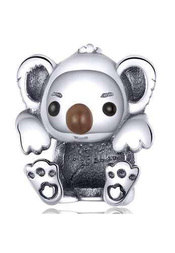 925 Signature 925 SIGNATURE Solid 925 Sterling Silver Baby Koala Charm 8C139ACB7F1C38GS_1