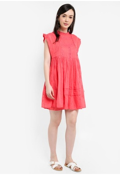 58ee8c582329 78% OFF Free People Nobody Like You Embroidered Mini Dress S$ 246.00 NOW S$  52.90 Sizes M
