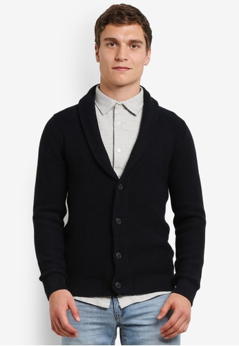 Selected Homme navy Rolf Cardigan SE364AA0S3XKMY_1