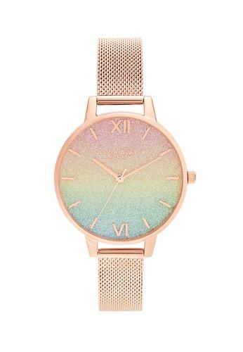 Olivia Burton gold Olivia Burton Rainbow ROSE GOLD Women's Watch (OB16RB18) A1153AC662B6E1GS_1