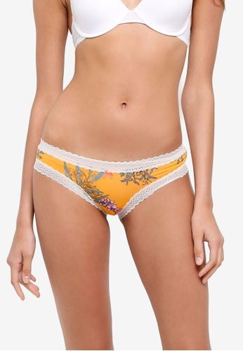 Cotton On Body yellow Super Soft Brasiliano Briefs 9A217USB55AAA4GS_1