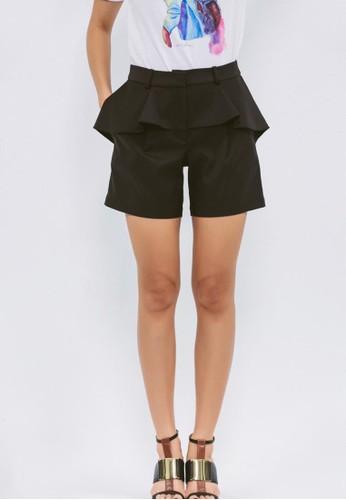 PEesprit 會員PLUM荷葉短褲, 服飾, 西裝短褲