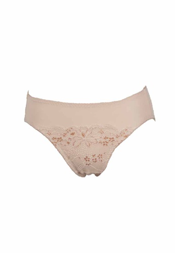 Wacoal brown Hipster Panty D0381US8265D0BGS_1