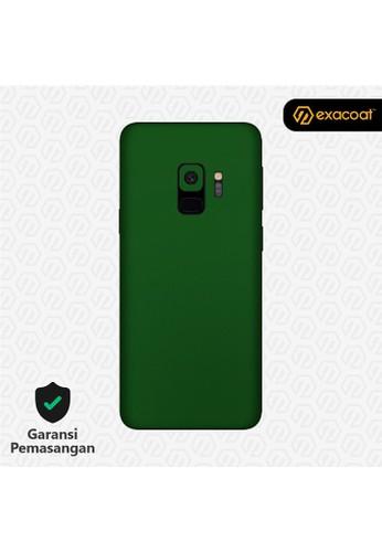 Exacoat Galaxy S9 Skins True Colors - Emerald Green E77D3ES5CFDE24GS_1