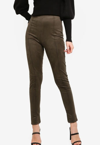 French Connection green Mavita Leggings AD6D7AAD5A98D9GS_1