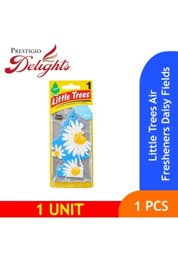Prestigio Delights white and yellow and blue and multi and navy Little Trees Air Fresheners Daisy Fields 5D7A4ESCC88209GS_1