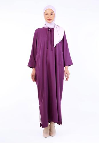 Inhanna purple RUUHA Lounge Dress Violet Purple 1F0E1AAF0615A9GS_1