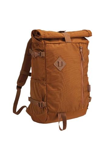 Coleman brown Atlas Roll Top Backpack E2081ACB8D6D24GS_1