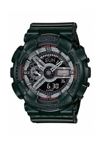 G-shock green CASIO G-SHOCK S SERIES GMA-S110MC-3A GS076AC60PRNMY_1
