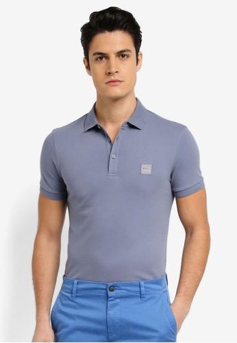 BOSS blue Passenger Shirt - Boss Casual FA7EBAAA9DDA9DGS_1