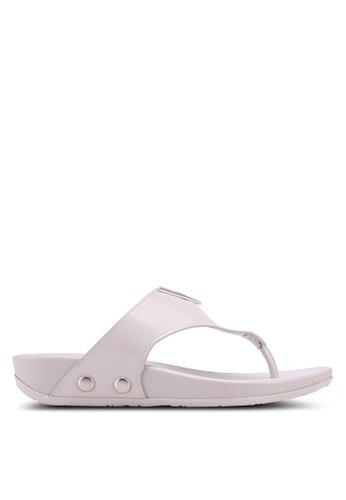 VINCCI grey Slip On Sandals 04720SH30FCDA8GS_1