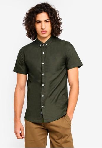 High Cultured green Short Sleeve Shirt - 51 C57BEAA9DFD951GS_1