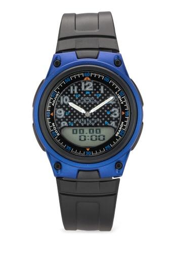 Casio blue Casio General Men's Watches Digital-Analog AW-80-2BVDF CA843AC58MHHMY_1