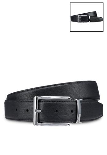 UniqTee black Classic Stitched Formal Belt 1A7D9AC38002F2GS_1