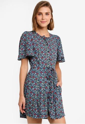 05a66193fc9 Buy French Connection Eden Crepe Belted Playsuit Online on ZALORA Singapore