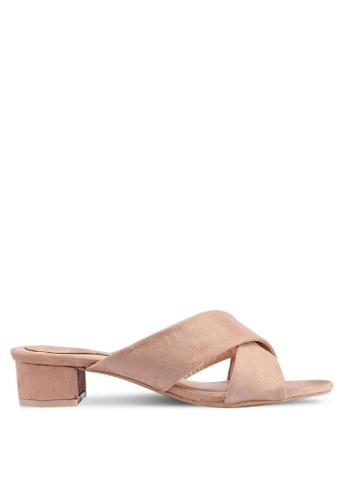Noveni 褐色 休閒高跟鞋 5EA15SH2606CD4GS_1