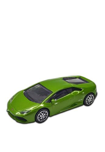 bburago green Bburago 1.43 Street Fire Asst - Lamborghini Huracan LP610-4 Green 0638ETHDC179DDGS_1