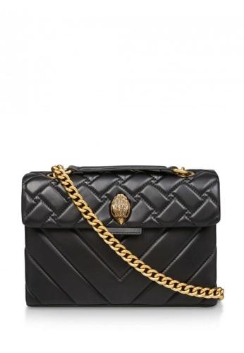 Kurt Geiger black Leather Kensington X Bag Black 4C1DEAC647BDFDGS_1