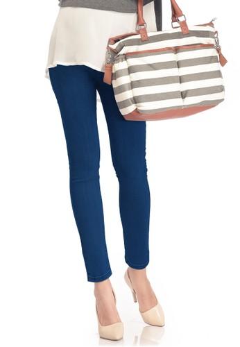 MOOIMOM MOOIMOM Skinny Look Maternity Jeans Celana Panjang Hamil - Navy MO368AA0V2M6ID_1