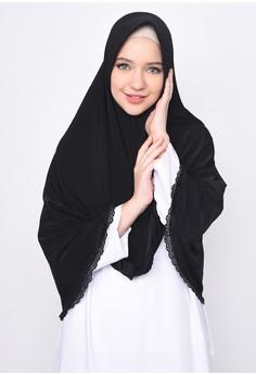 Diindri Hijab black Hijab Instan Shanum 6EEB5AA66C36D6GS_1
