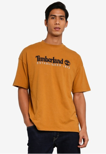 Timberland brown Outdoor Archive Tee B6BE9AAC9C6CD0GS_1