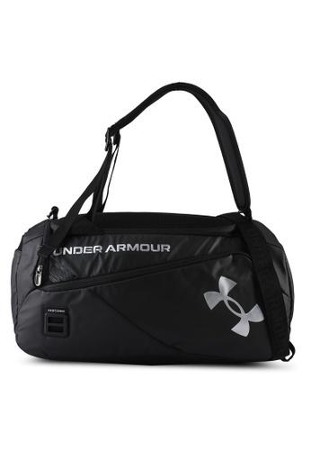 Under Armour black Contain Duo Duffle Bag BB2A9AC0DCD4F3GS_1