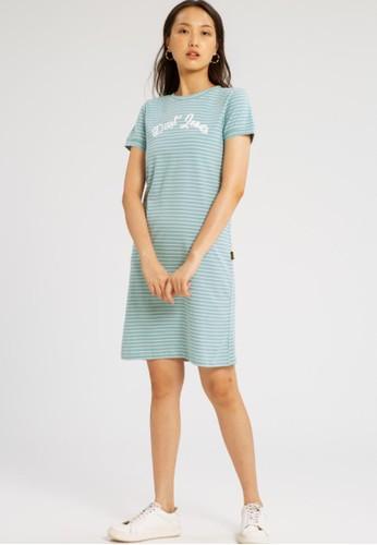 DUST green DUST Dress Dayana Aquifer (D. 4408) A3AD1AAC66601AGS_1