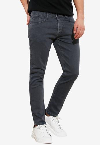 Trendyol grey Skinny Fit Jeans BA866AABF04AEBGS_1