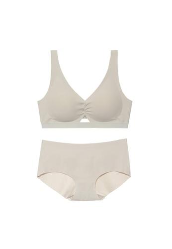 Midnight 綠色 Premium Lace Green Lingerie Set (Bra and Underwear) 9075BUS22EFF58GS_1