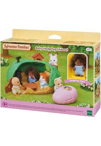 Sylvanian Families multi Sylvanian Families Baby Hedgehog Hideout 05F4ETH538E195GS_1