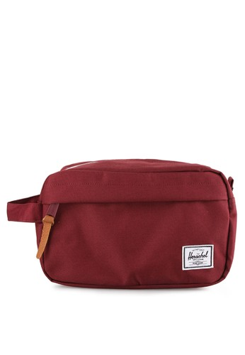 Herschel red Chapter Travel Kit A3107ACB0573C1GS_1