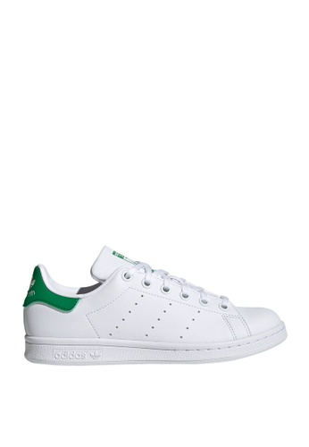 Adidas 白色 stan smith j sneakers 16367KS430612EGS_1