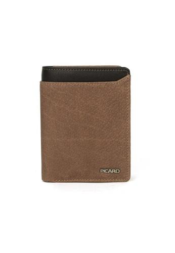 Picard brown Munich Wallet PI517AC92CGPSG_1