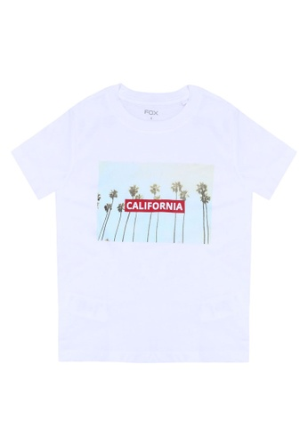 FOX Kids & Baby black Graphic Print T-Shirt 9096FKAD914649GS_1