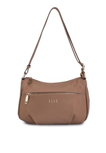 ELLE brown Adah Sling Bag 0921EAC0D5D927GS_1