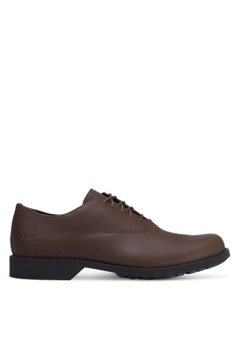 Timberland brown Fitchburg Waterproof Oxford Shoes TI063SH0RP7KMY_1
